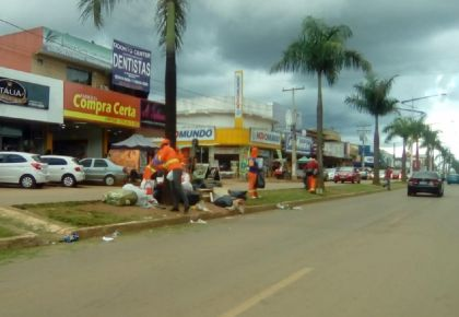 Continuam as obras da cidade: período chuvoso não diminui agilidade das obras em Águas Lindas