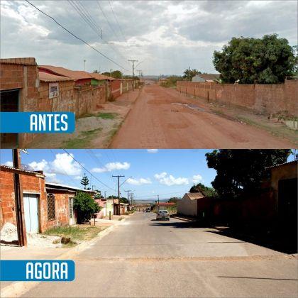 Gestão de Hildo do Candango continua investindo em obras de infraestrutura urbana