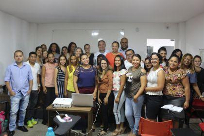 Notícias de Águas Lindas - Gestão Hildo capacita profissionais para atuar em Águas Lindas junto ao Programa de Planejamento Familiar