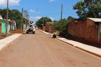 Notícias de Águas Lindas - Obras de infraestrutura realizadas por Hildo do Candango modificam a realidade dos moradores do Setor 07
