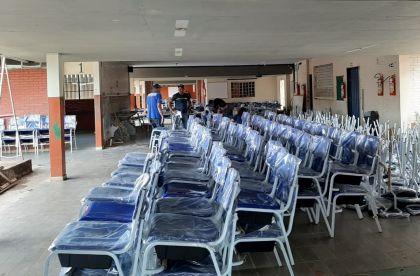 Notícia de Goiás – Colégios Estaduais do Entorno do DF receberão mobiliários novos