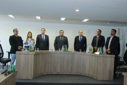 Notícia de Águas Lindas – Prefeito Hildo do Candango participa da abertura dos trabalhos legislativos de 2020