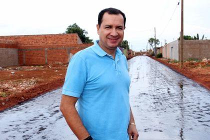 Notícias de Águas Lindas - Hildo do Candango promove o avanço das obras de urbanização no bairro Jardim Guaíra