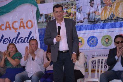 """Prefeito Hildo do Candango lança """"Portal do Aluno"""" no município"""