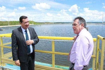 Notícia de Águas Lindas – Estação de Tratamento de Esgoto (ETE) de Águas Lindas é uma das mais modernas do país