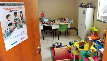 Notícias de Águas Lindas - Fórum de Águas Lindas ganha sala lúdica para depoimentos de crianças vítimas de violência