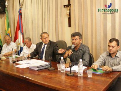 Notícias de Pirenópolis - Em Audiência Pública, Prefeitura de Pirenópolis requer para si território pertencente a Petrolina de Goiás