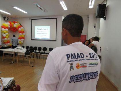 Notícias de Águas Lindas- Agentes comunitários de saúde participam de treinamento da PMAD 2015
