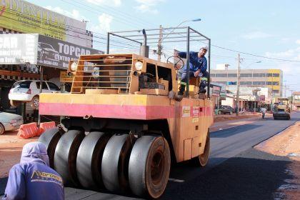 Notícia de Águas Lindas – As obras de infraestrutura estão em ritmo acelerado
