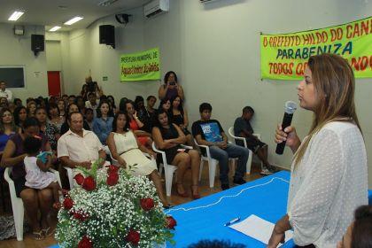 Notícias de Águas Lindas - Serviços dos Centros de Referência de Assistência Social beneficiam milhares de pessoas no município, diz Aleandra Sousa