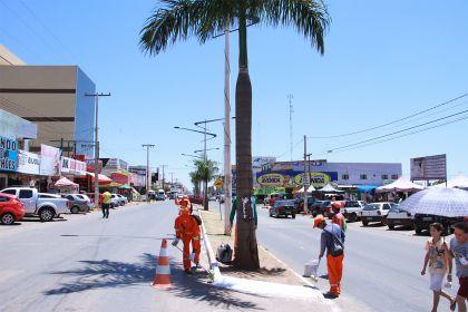 Notícias de Águas Lindas - Hildo do Candango prioriza a limpeza pública no município de Águas Lindas