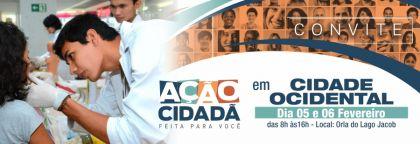 Notícias de Cidade Ocidental - Parceria entre Prefeitura de Cidade Ocidental e governo de Goiás promove cidadania a moradores