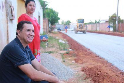 Notícia de Águas Lindas – Hildo do Candango leva obras de infraestrutura para 16 bairros de Águas Lindas e promove o crescimento da cidade