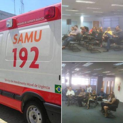 Notícias de Santo Antônio - Prefeitura de Santo Antônio do Descoberto participa de reunião para discutir sobre a Regulação de Urgências e Emergências nos municípios