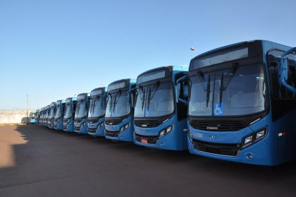 Taguatur anuncia ampliação da frota com 45 ônibus novos para Águas Lindas