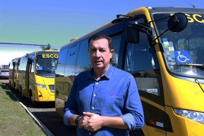 Notícia de Águas Lindas – Hildo do Candango reforça frota de micro-ônibus escolar