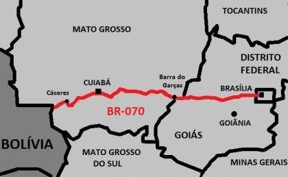 Conheça a história da BR-070