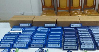 Notícia de Águas Lindas - Pacientes do Hospital de Campanha e Hospital Municipal Bom Jesus receberam kits de higiene bucal