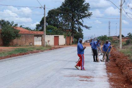 Notícia de Águas Lindas – Coronavírus não afeta obras de infraestrutura em Águas Lindas