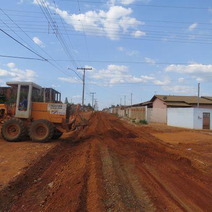 Notícia de Águas Lindas – Jardim das Oliveiras é contemplado pelo pacote de obras e recebe pavimentação asfáltica